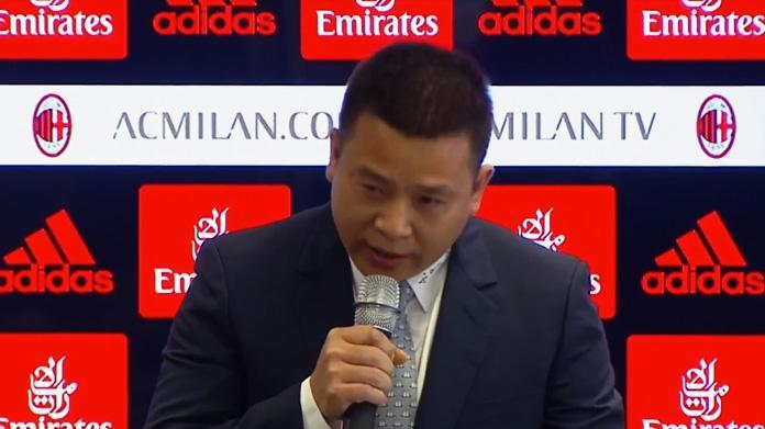 Milan, la voce sui cinesi: Yonghong Li sta cercando nuovi partner finanziari