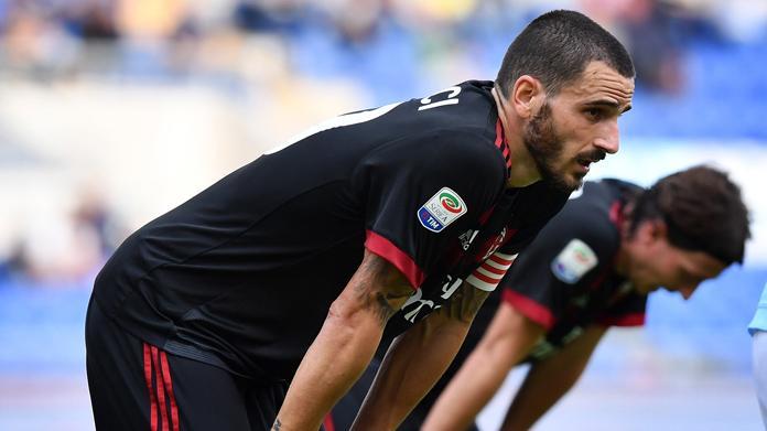 Leonardo Bonucci: due turni di squalifica, salterà Milan-Juventus