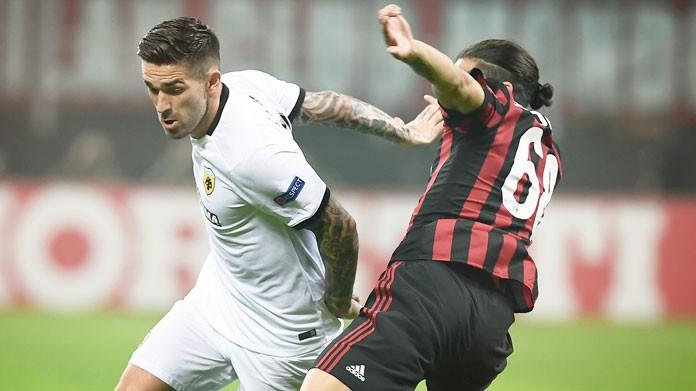 Milan-AEK Atene, Locatelli: