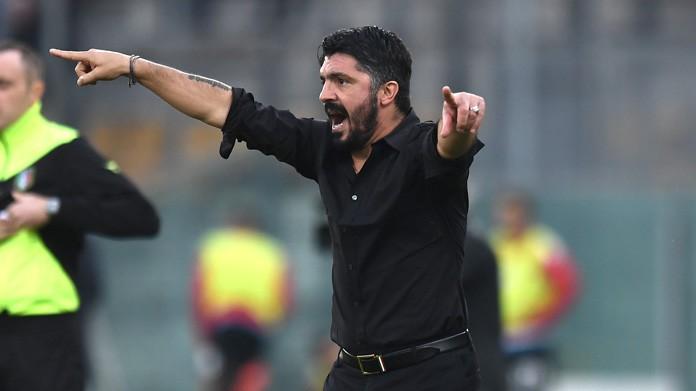 Milan, Gattuso chiede coltello tra denti