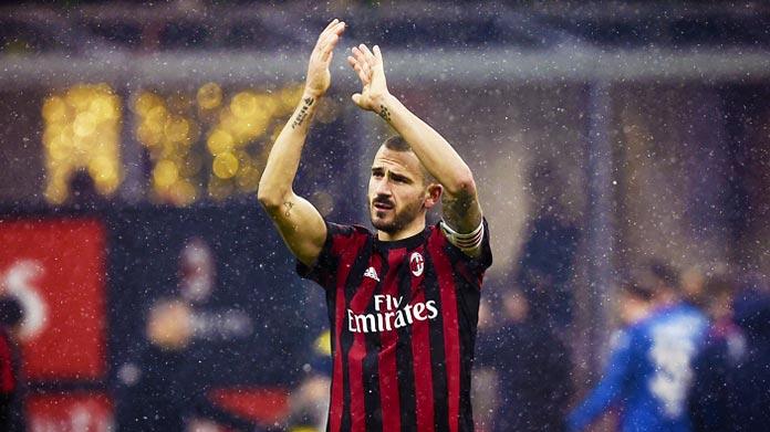 Milan-Verona, Donnarumma in lacrime: Bonucci lo consola negli spogliatoi