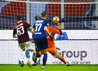 Cutrone Milan Inter