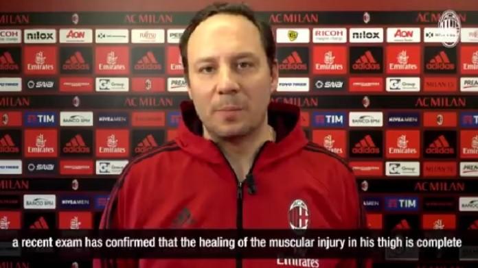 Milan, allenamento in vista del Ludogorets. Kalinic in gruppo