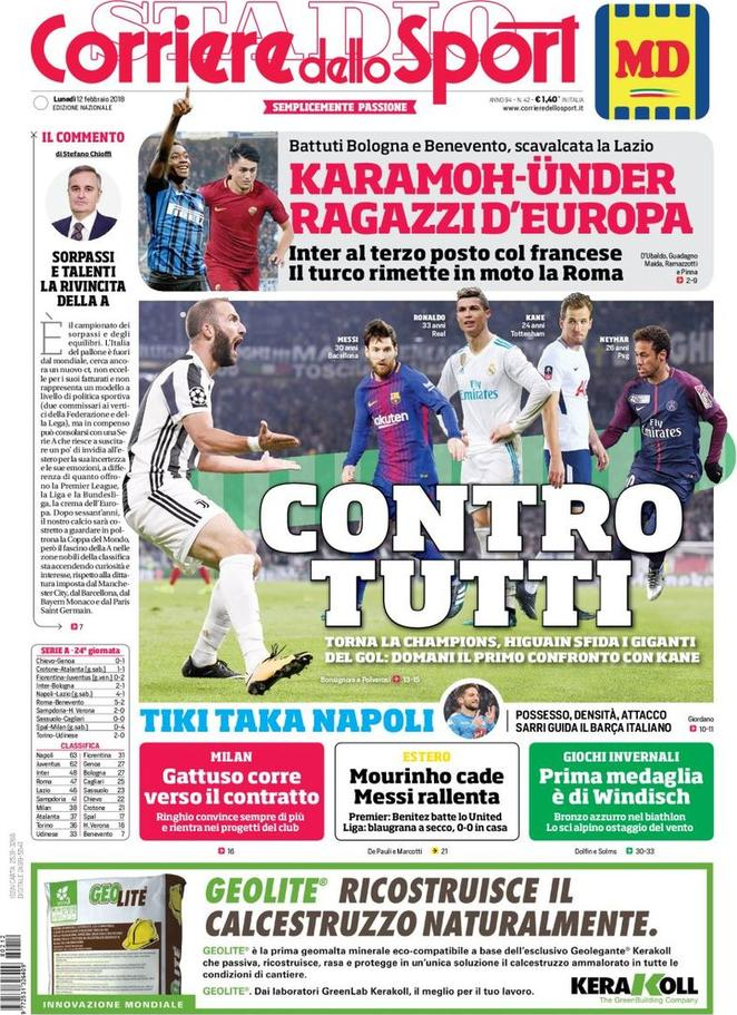 corsport 12 feb 2018