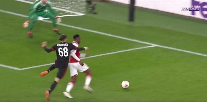 Rigore Arsenal