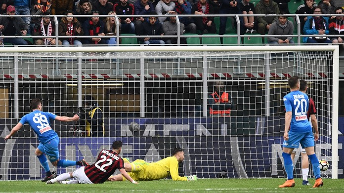 Napoli, Milik lascia il ritiro della Polonia: