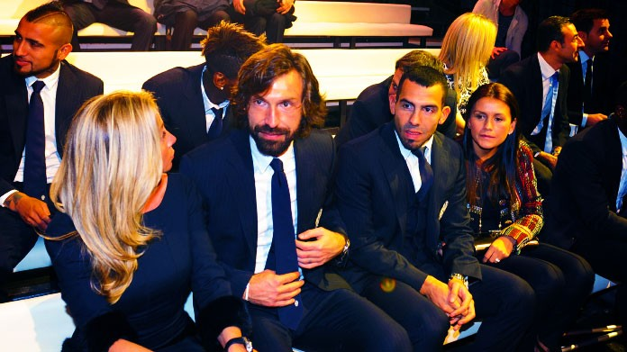 Addio al calcio di Pirlo: presenti Allegri, Conte e Ancelotti
