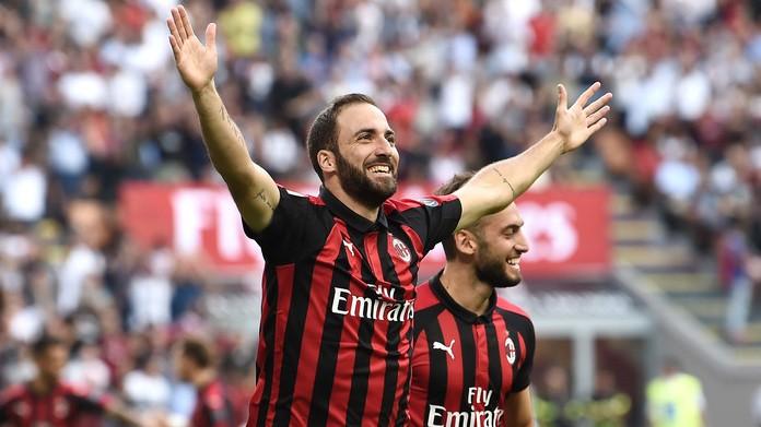 Milan-Atalanta 2-2, non basta Higuain. Gattuso: