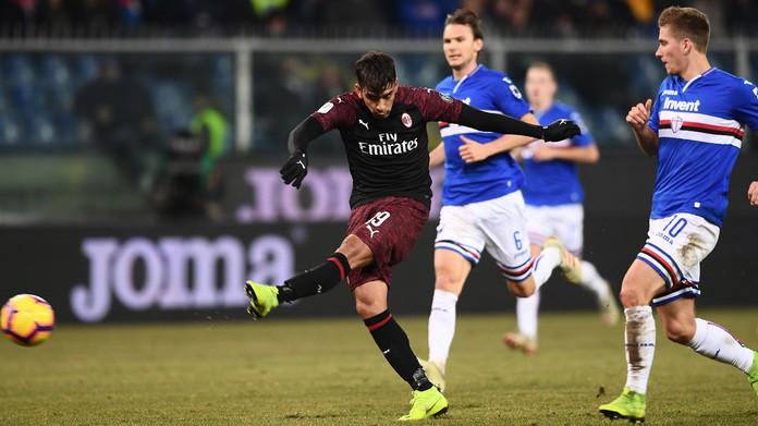 Sampdoria-Milan streaming e probabili formazioni: ecco come