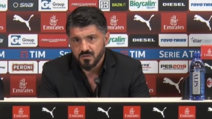 Serie A Milan, Gattuso: