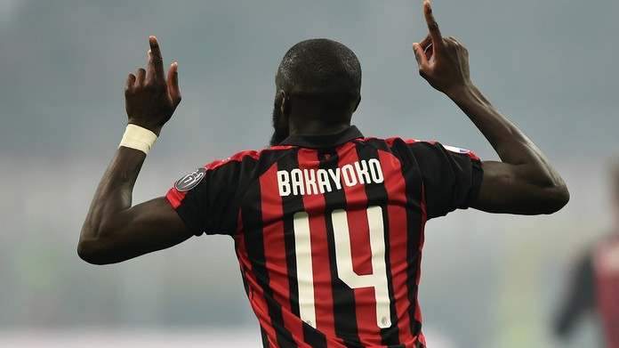 Milan, ieri a San Siro per il derby c'era anche Bakayoko