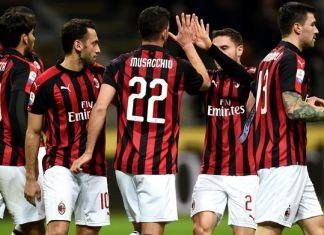 Esultanza Musacchio Milan